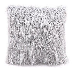 Modern Faux Fur Pillow, , rollover