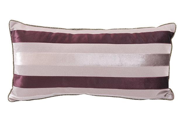 Modern Velvet Pillow, Gray, large