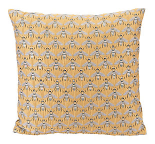 Modern Bees Al Sol Pillow, , large