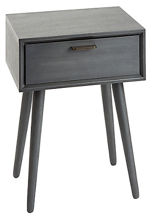 Mid Century Modern Accent Table, , large