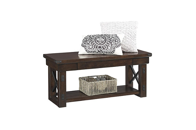 Daisee Entryway Bench, , large