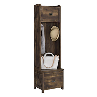 Cohen Entryway Hall Tree with Storage Bench, , large