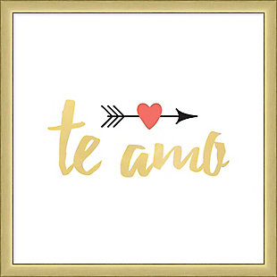 Giclee Te Amo Wall Art, , large