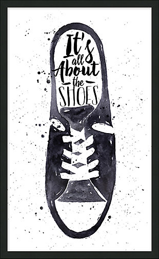 Giclee All About the Shoes Wall Art, , rollover