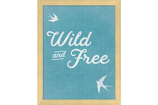 Giclee Wild and Free Wall Art, , large