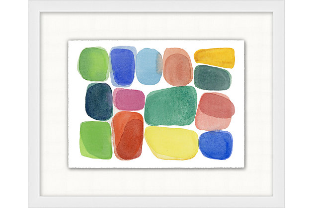 Giclee Rainbow Rocks Wall Art, , large