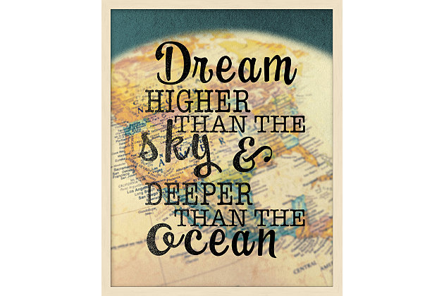 Giclee Dream Higher Wall Art, , large