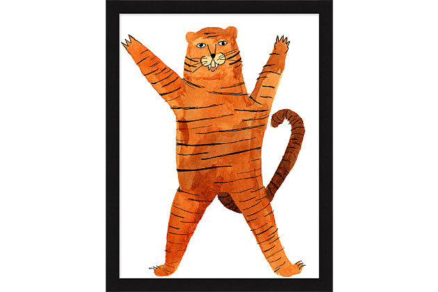 Giclee Tiger 21 Wall Art, , large