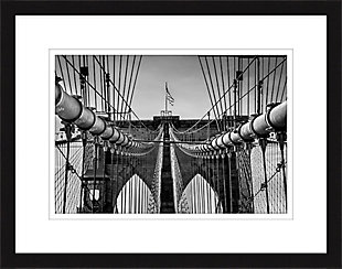 Giclee Brooklyn Bridge Wall Art, , rollover
