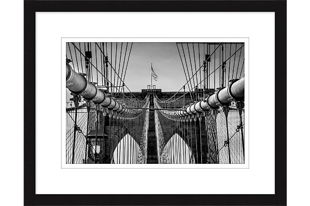 Giclee Brooklyn Bridge Wall Art, , large