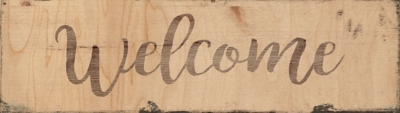 Giclee Welcome Wall Art, , large