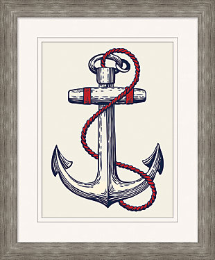 Giclee Nautical Anchor Wall Art, , large