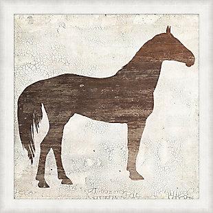 Giclee Barnwood Horse Wall Art, , large