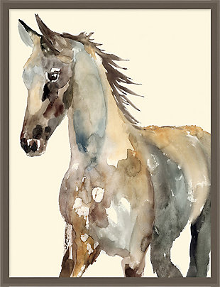 Giclee Watercolor Horse Wall Art, , rollover