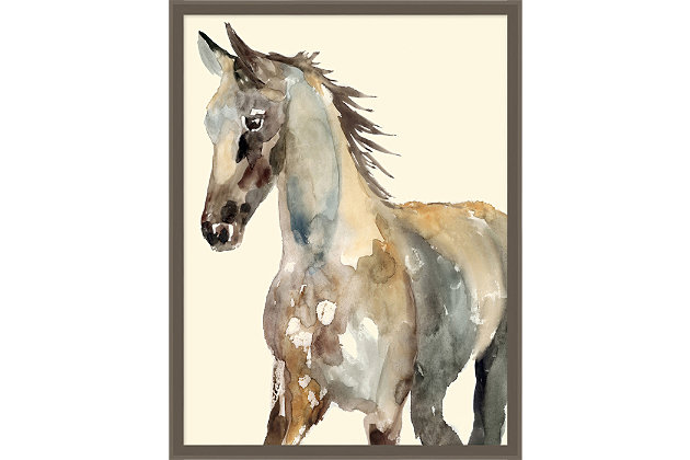 Giclee Watercolor Horse Wall Art, , large