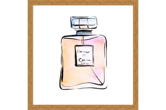 Giclee Parfum No.9 Wall Art, , large