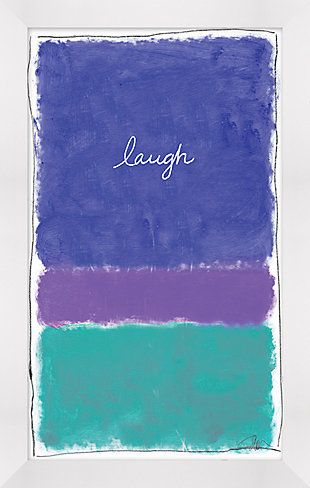 Giclee Laugh Wall Art, , rollover
