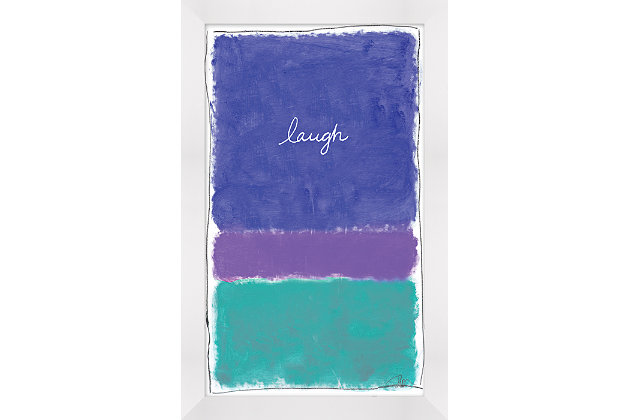 Giclee Laugh Wall Art, , large