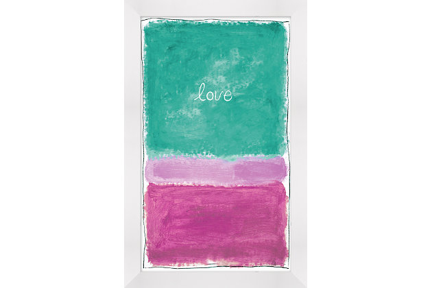 Giclee Love Wall Art, , large