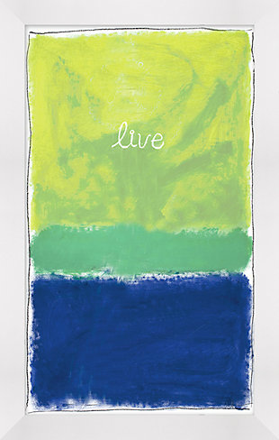 Giclee Live Wall Art, , large