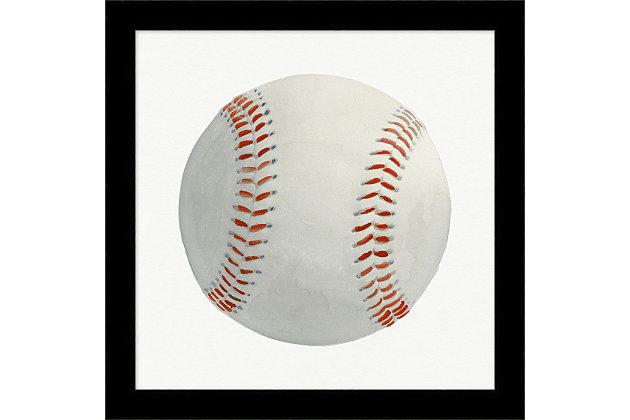 Giclee Baseball Wall Art, , large