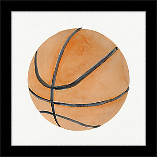 Giclee Basketball Wall Art, , large