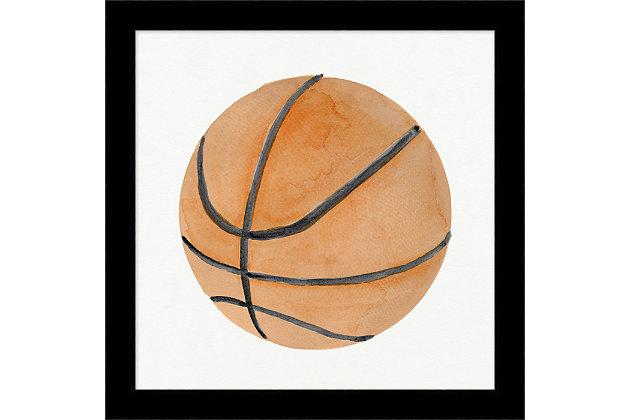 Giclee Basketball Wall Art, , large