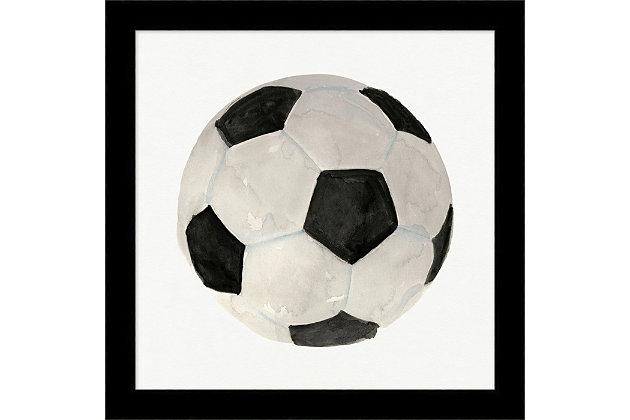 Giclee Soccer Ball Wall Art, , large