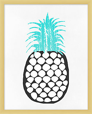 Giclee Perky Pineapple Wall Art, , large