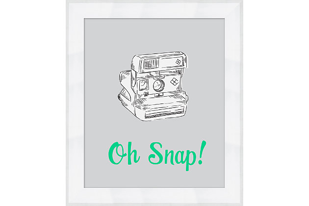 Giclee Oh Snap! Wall Art, , large