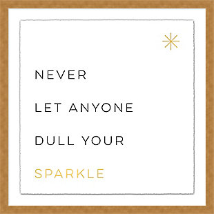 Giclee Sparkle Wall Art, , large