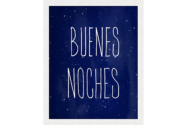 Giclee Buenos Noches Wall Art, , large