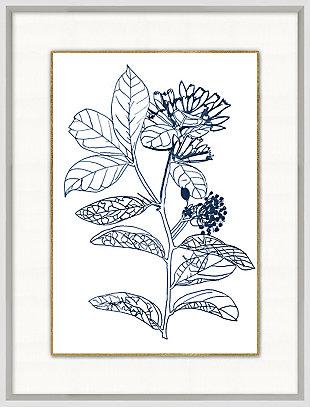 Giclee Blue Botanical Wall Art, , large