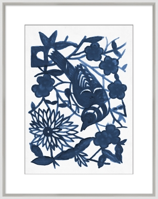 Giclee Blue Nature Wall Art, , large