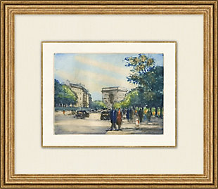 Giclee Stroll in the City Wall Art, , rollover