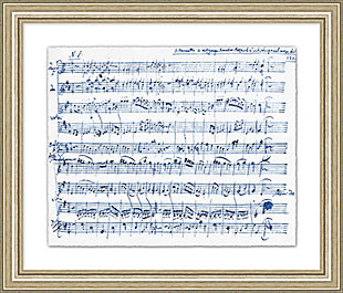 Giclee Sheet Music Wall Art, , large