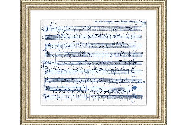 Giclee Sheet Music Wall Art, , large