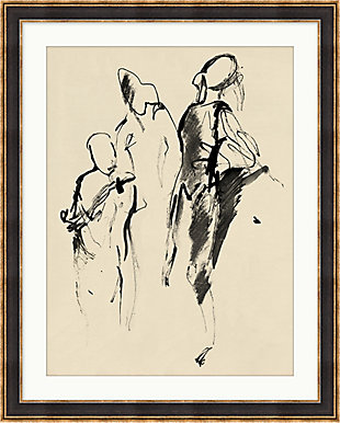 Giclee Abstract Figures 1 Wall Art, , large