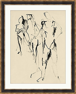 Giclee Abstract Figures 2 Wall Art, , large