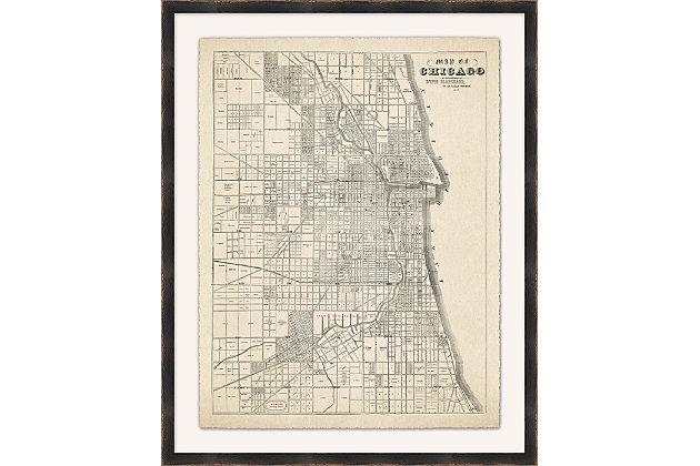 Giclee Chicago Wall Art, , large