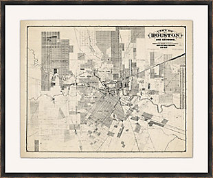 Giclee Houston Map Wall Art, , large