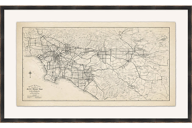 Giclee Los Angeles Wall Art, , large