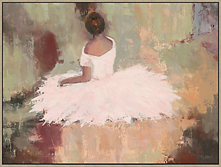 Giclee Seated Ballerina Wall Art, , large