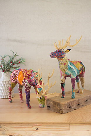 Decorative Reindeer (Set of 2), , large