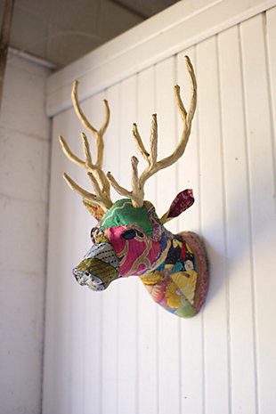 Decorative Reindeer Wall Mount, , large