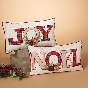 Decorative Holiday Throw Pillows (Set of 2), , rollover
