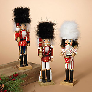 "Decorative 15"" Nutcracker Figurines (Set of 3), , rollover"
