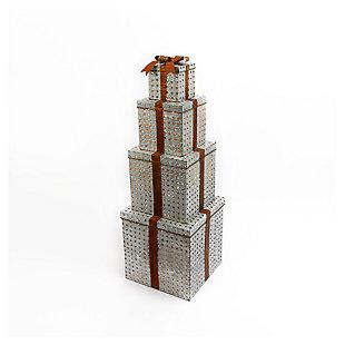 "Decorative 55"" Metal Stacking Gift Boxes, , large"