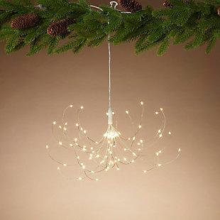 """Decorative 37.8"""" Wire Starburst Ornament, , rollover"""