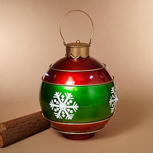 """Decorative 19.8"""" Metal Snowflake Ornament, , rollover"""